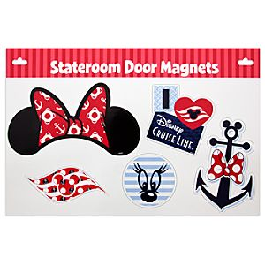 Minnie Mouse Stateroom Door Magnets - Disney Cruise Line