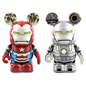 Vinylmation Iron Man Series 3 Figure Set - Iron Patriot and War Machine