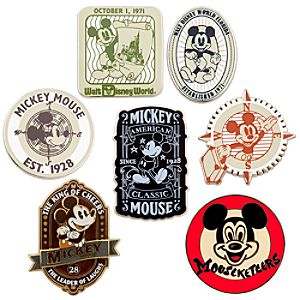Mickey Mouse Pintasmic! Classic Pin Set