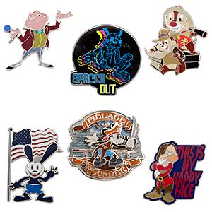 Mickey Mouse and Friends Pintasmic! Pin Set 1