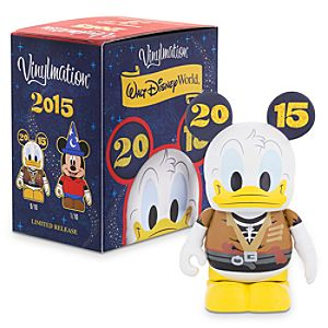 Walt Disney World 2015 Series 3 Eachez Figure - Mickey Mouse and Donald Duck