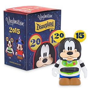 Disneyland 2015 Series 3 Eachez Figure - Mickey Mouse and Goofy