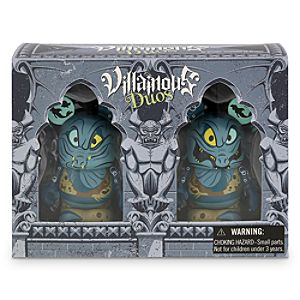Vinylmation Villainous Duos Series 3 Figure Set - Flotsam and Jetsam - Limited Edition