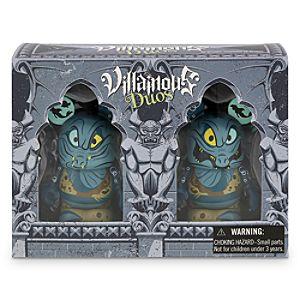 Vinylmation Villainous Duos Series 3 Figure Set - Flotsam and Jetsam - Limited Edition