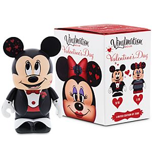 Vinylmation Valentines Day 2015 Eachez 3 Figure - Mickey and Minnie Mouse