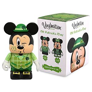 Vinylmation St Patricks Day 2015 Eachez 3 Figure - Mickey and Minnie Mouse