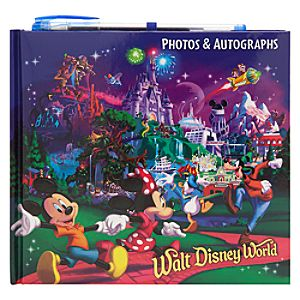Mickey Mouse and Friends Autograph Book - Walt Disney World