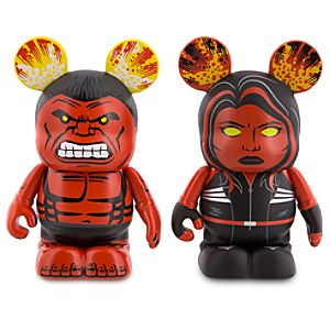 Vinylmation Marvel Series 3 Figure Set - Red Hulk and Red She-Hulk