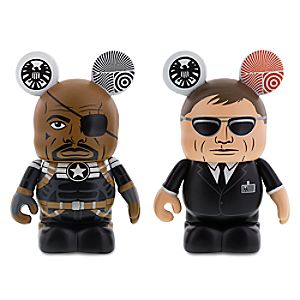 Vinylmation Marvel Series 3 Figure Set  - Nick Fury and Agent Coulson