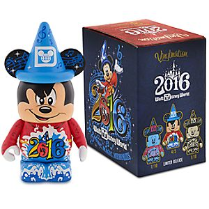 Vinylmation Walt Disney World 2016 Eachez 3 Figure - Sorcerer Mickey