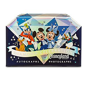 Mickey Mouse and Friends Deluxe Autograph Book - Disneyland Diamond Celebration