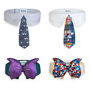 Mickey Mouse Pet Bow Tie & Tie Collar Set
