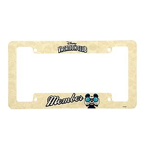 Disney Vacation Club Member License Plate Frame
