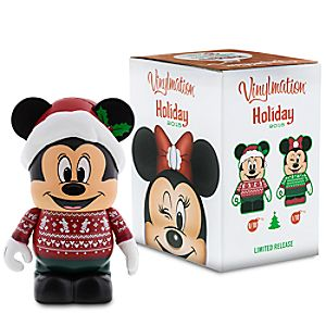 Vinylmation Mickey and Minnie Mouse Eachez 3 Figure - Holiday 2015