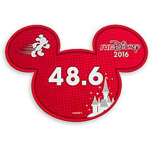 Mickey Mouse runDisney 2016 Magnet - 48.6