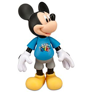 2012 Articulated Mickey Mouse Action Figure -- 7 H