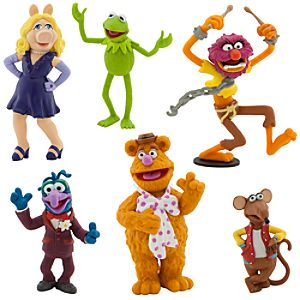 The Muppets Figure Play Set -- 6-Pc.