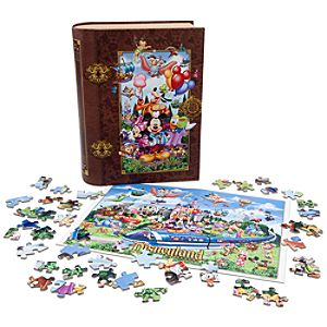Storybook Disneyland Puzzle Set