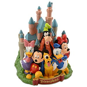 Disneyland Mickey Mouse and Friends Bank