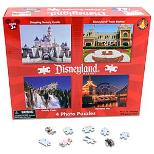 Disneyland Puzzle Set -- 4-Pack