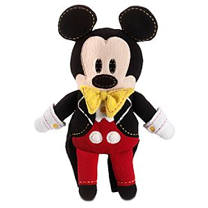 Pook-a-Looz Magic Kingdom 40th Anniversary Mickey Mouse Plush Toy -- 12''