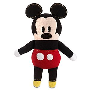 Pook-a-Looz Mickey Mouse Plush Toy -- 12''