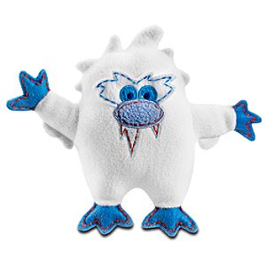 Pook-a-Looz Expedition Everest Abominable Snowman Plush Toy -- 8''
