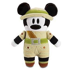 Pook-a-Looz Kilimanjaro Safaris Mickey Mouse Plush Toy -- 12''