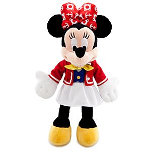 Disney Cruise Line Minnie Mouse Plush Toy -- 9