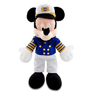 Disney Cruise Line Mickey Mouse Plush Toy -- 9