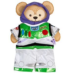 "Duffy the Disney Bear Buzz Lightyear Costume - 17"" H"