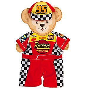 Duffy the Disney Bear - Cars Lightning McQueen Costume