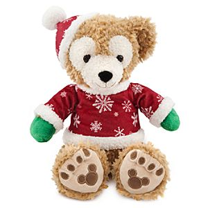 Holiday Duffy the Disney Bear -- 12 H