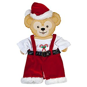 Duffy the Disney Bear Santa Costume -- 17'' H