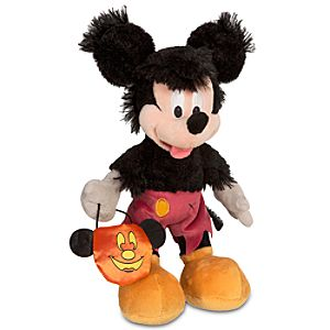 Halloween Werewolf Mickey Mouse Plush Toy -- 12 H