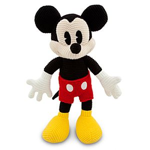 Crochet Knit Mickey Mouse Plush -- 16 H