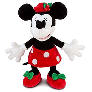 Classic Holiday Minnie Mouse Plush -- 9
