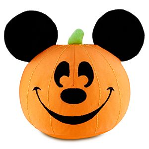 Jack OLantern Mickey Mouse Plush Toy -- 7 H