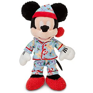Holiday Dreams Mickey Mouse Plush -- 12