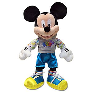 2012 Disney Parks Mickey Mouse Plush Toy -- 12