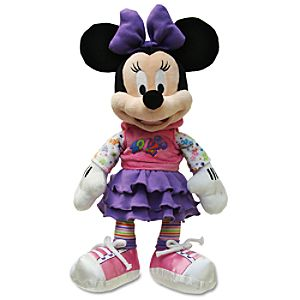 2012 Disney Parks Minnie Mouse Plush Toy -- 12