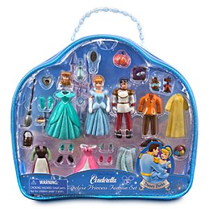 Deluxe Disney Princess Fashion Set -- Cinderella