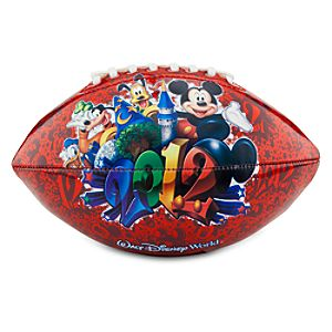 Mini 2012 Walt Disney World Mickey Mouse Football