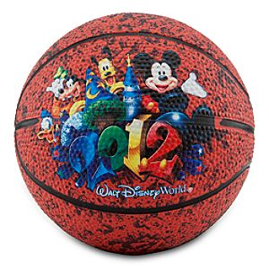 Mini 2012 Walt Disney World Mickey Mouse Basketball