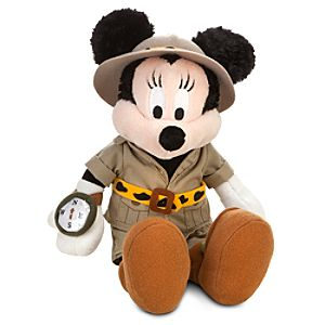 Safari Minnie Mouse Plush -- 10
