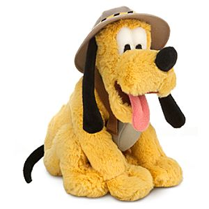 Safari Pluto Plush -- 8 1/2