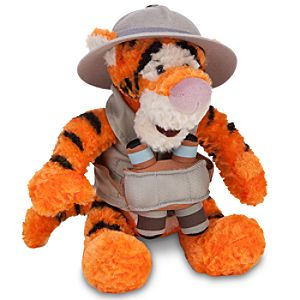 Safari Tigger Plush -- 9