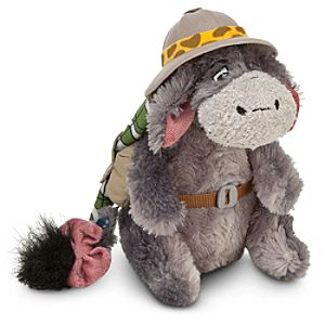 Safari Eeyore Plush -- 9