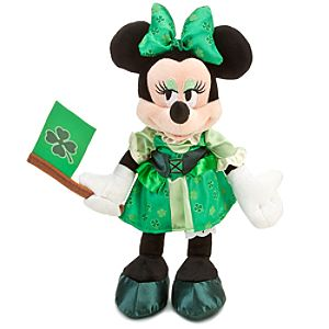 Ireland World Showcase Minnie Mouse Plush -- 10
