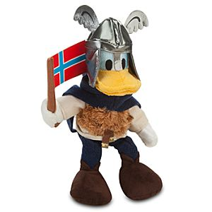 Norway World Showcase Donald Duck Plush -- 10